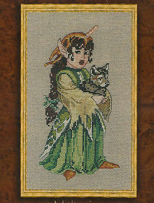 Melisange - fantasy cross stitch chart - Nimue
