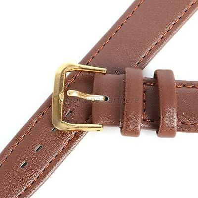 New PU Leather Unisex Men Women Watches Strap Band Wrist Watchband Black/Coffee