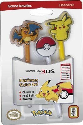 BB Stylus Pokemon 3 pezzi NEW 3DS XL (A3N)