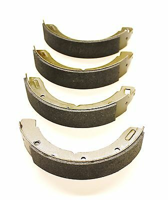 A Set Of Four Rear Brake Shoes For The Sunbeam Alpine Si, Sii, Siii & Siv