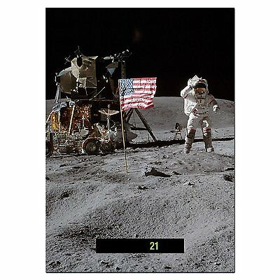 Large A5 - Easy Read - Wall & Room Thermometer - First Man on the Moon
