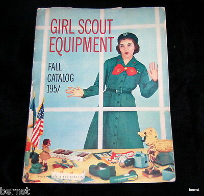 Vintage 1957 Girl Scout Equipment Catalog - 47 Pages