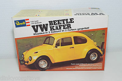 Revell Kit 7211 Vw Volkswagen Beetle Kafer Yellow Mint Boxed