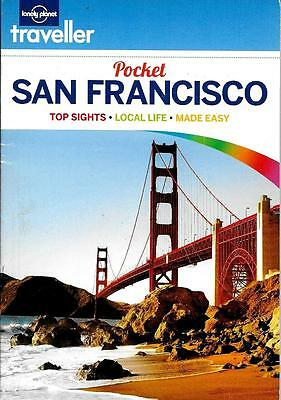 Guide Book and Map of San Francisco, CA, by Lonely Planet