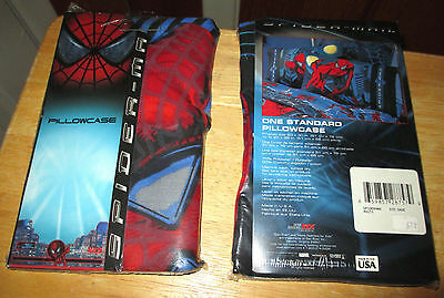 Marvel ~ Spider-Man Two Standard Pillowcases (2002) - BRAND NEW
