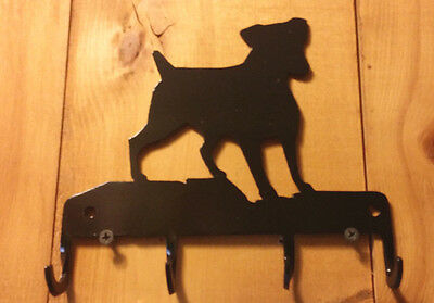 Rat Terrier Key Leash Holder STEEL  MADE IN THE USA  FREE SHIPPING