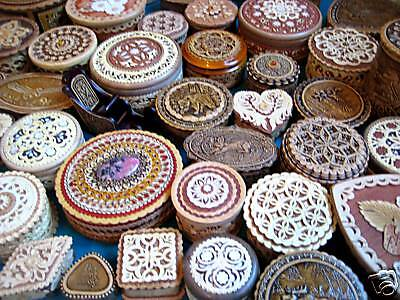 RUSSIAN ART Birch Bark WHOLESALE LOT BOX BOXES You make your lot! FROM DEALER