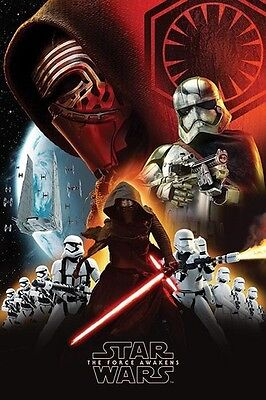 STAR WARS EPISODE 7 VII - FIRST ORDER POSTER (91x61cm)  NEW WALL ART