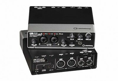 NEW Steinberg UR22 MKII Audio Midi Interface Cubase