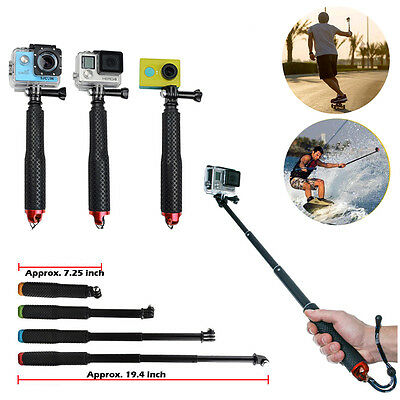 Waterproof Handheld Monopod Tripod Selfie Stick Pole for Gopro Hero 2/3 Camera