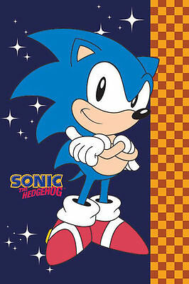 SONIC THE HEDGEHOG SEGA POSTER (61x91cm)  PICTURE PRINT NEW ART