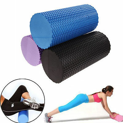 Gym Exercise Fitness Floating Point EVA Yoga Foam Roller Physio Trigger Massage