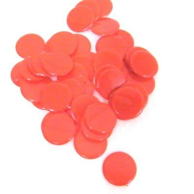 Plastic Counters - Games Pieces 15mm - Qty 50