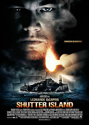 Shutter Island (2010) - A1/A2 POSTER **BUY ANY 2 AND GET 1 FREE OFFER**