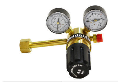 CO2 MIG Single Stage 2 Gauge Regulator For Pub Gas Bottles