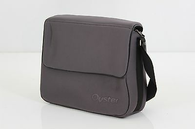 BabyStyle Oyster / Oyster Max baby Changing Nappy Bag Slate Grey
