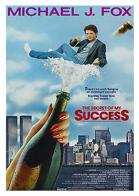The Secret Of My Success (1987) - A1/A2 Poster *BUY ANY 2 AND GET 1 FREE OFFER*