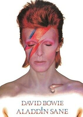 (LAMINATED) DAVID BOWIE - ALADDIN SANE ALBUM COVER POSTER (91x61cm)  NEW WALL