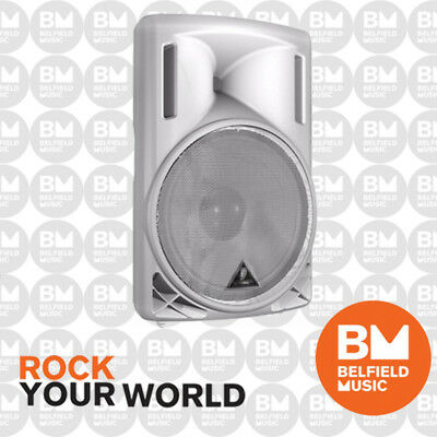 Behringer EUROLIVE B215D Active PA Speaker WHITE 2-Way 550W 15'' Inch