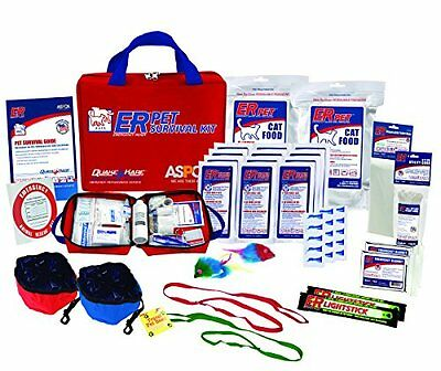 ER Emergency Ready Ultimate Deluxe Survival Kit for Two Cats