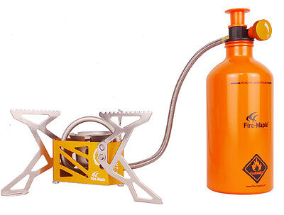 Fire-maple Burner Engine Stove Camping Stove with Fuel Bottle 270g 3275w  FMS-F3