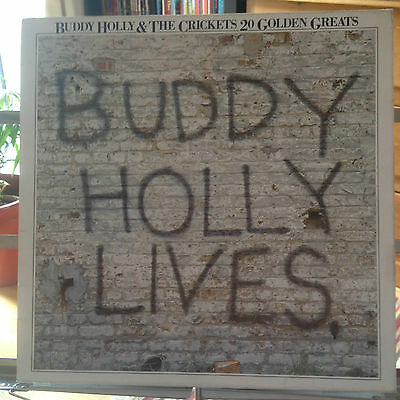 Buddy Holly & The Crickets - 20 Golden Greats - Vg Vinyl Lp - First Pressing
