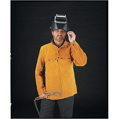 US Forge 99405 Leather Welding Cape with 20-Inch Bib, L