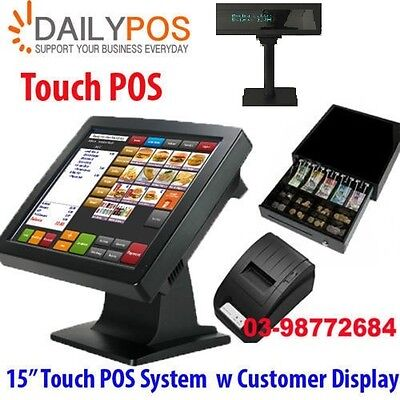 ew Touch Screen Point of Sale System POS Cafe Takeaway Hospitality Restaurant