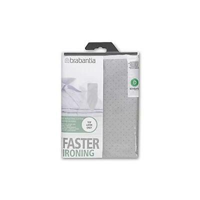 Brabantia Metallised Ironing Board Cover Size D Type 135 x 45cm Silver Reflector