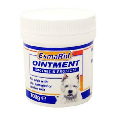 Exmarid Ointment 100g Dog Skin Cream Abrasions, Wounds, Dry Damaged, Broken Skin