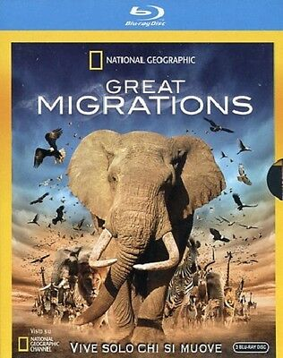 Cofanetto Bluray 3 Dischi Great Migrations National Geographic Nuovo Sigillato