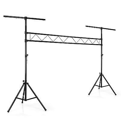 Stativo Luci LIght Stand Cavalletto Supporto Effetti Traversa Montanti Strobo