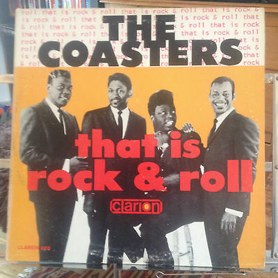 The Coasters - That Is Rock & Roll - Ex Vinyl - Rare Mono First Pressing