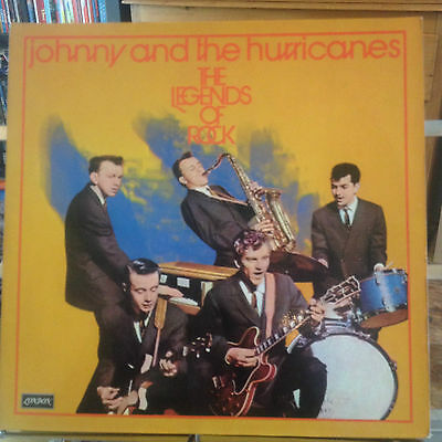 Johnny And The Hurricanes - The Legends Of Rock - Ex Vinyl - Rare First Pressing