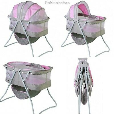 Baby Cribs And Bassinets Bedding Cradle Sleeper Basket Cozy Nursery Girls Infant