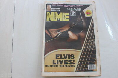 Nme # 18 1989 Morrissey The Smiths Elvis Costello Billy Bragg Rocky Horror