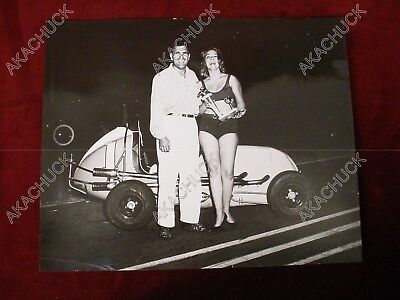 "1960s MIDGET AUTO RACING Unknown Champion 16x20"" Foster Photo #1 Car A R17"