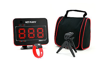 Sports Speed Radar Gun & Video Camera - Football Golf Speedgun +Tripod+Carry Bag