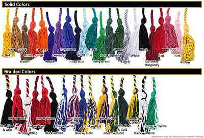 2-Color Graduation Honor Cords (continued)