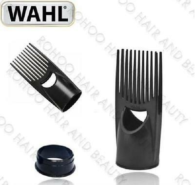 WAHL PIK Attachment Afro Hair Dryer Comb Hot Air Brush Hard dryer Power Pik