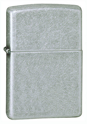 New Style Zippo Armor Windproof Antique Silver Plate Lighter, 28973, New In Box