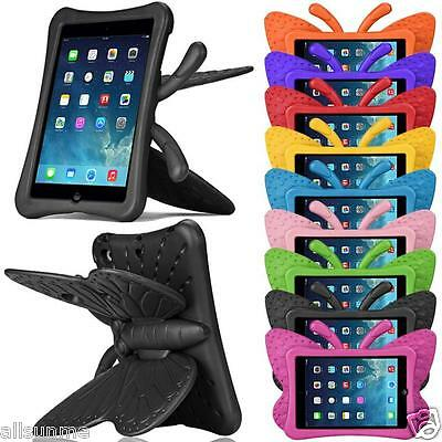 3D Cute Butterfly Shockproof EVA Foam Stand Case Cover For Apple iPad Mini 1/2/3