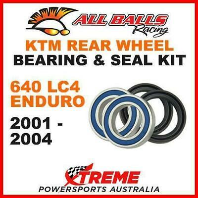 25-1283 Mx Rear Wheel Bearing Kit Ktm 640Lc4 640 Lc4 Enduro 2001-2004 Dirt Bike