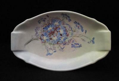 Lg Vintage Wembley Ware Handpainted Floral Wa Wildflower Australian Pottery Tray