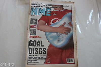 Nme # 20 May 1989 Ghost Dance Abc The Swans Lucinda Williams Beautiful South
