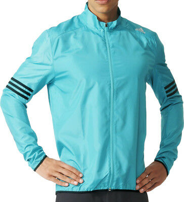 Adidas Response Wind Mens Running Jacket - Green