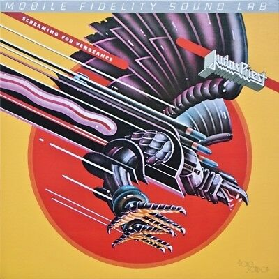 Judas Priest Screaming For Vengeance MFSL remastered #d vinyl LP NEW/SEALED