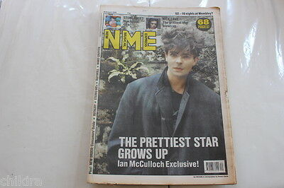 Nme 26 August 1989 Ian Mcculloch Stone Roses Nick Cave New Order