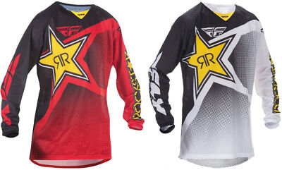 Fly Racing Mens Kinetic Mesh Rockstar Jersey Original Style
