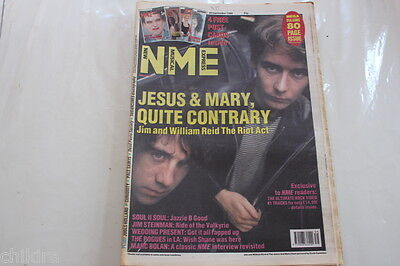 Nme 30 September 1989 Sugercubes Wedding Present Jimm And William Reed